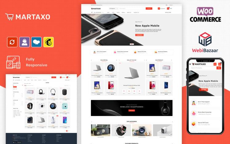Martaxo Multipurpose Super Market WooCommerce Theme