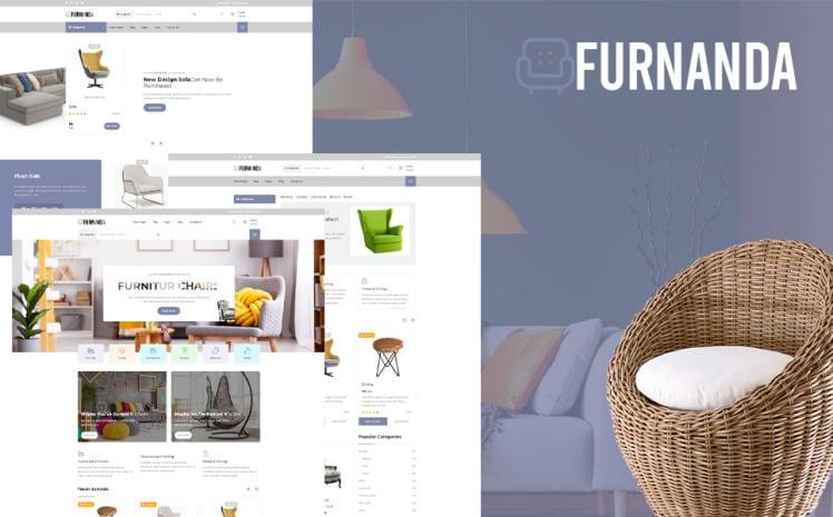 Furnanda Furniture Shop WordPress Theme