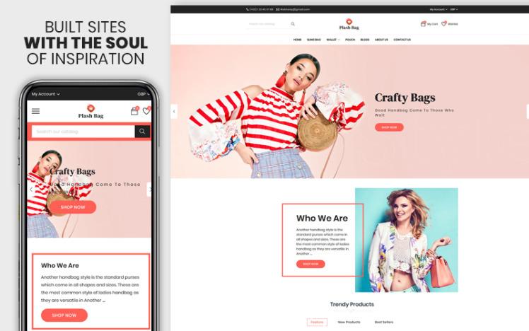 Plashbag The Bag and Fashion Responsive Shopify Theme