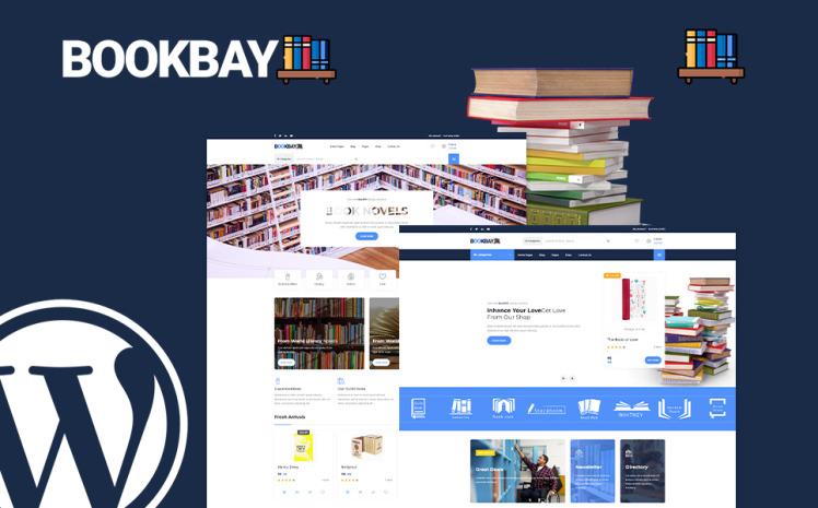 Bookbay Book Shop WordPress Theme