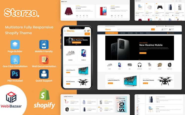 Storzo Multipurpose Ecommerce Shopify Theme