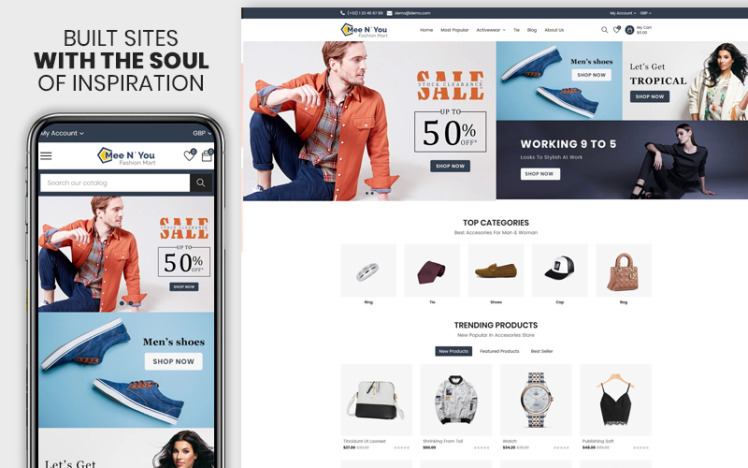 Meenyou The Fashion Mart Responsive Shopify Theme