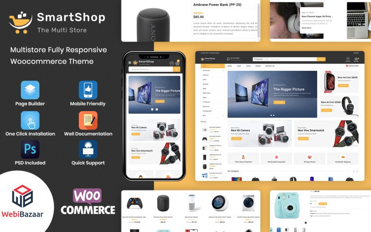 SmartShop Multipurpose Premium WooCommerce Theme