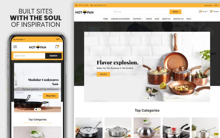 Hotpan The Kitchen amp Appliances Premium Shopify Theme
