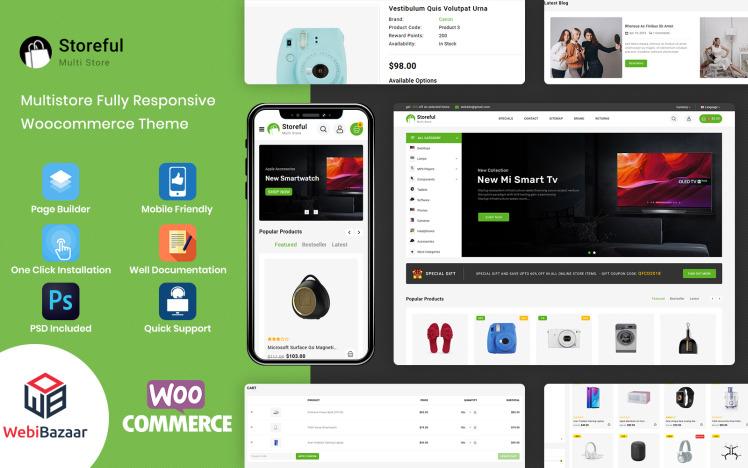 StoreFul Multipurpose Electronics WooCommerce Theme