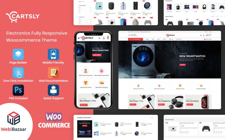 Cartsly Electronics Multipurpose Ecommerce WooCommerce Theme