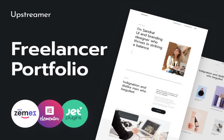 Upstreamer Freelancers Marketplace WordPress Theme