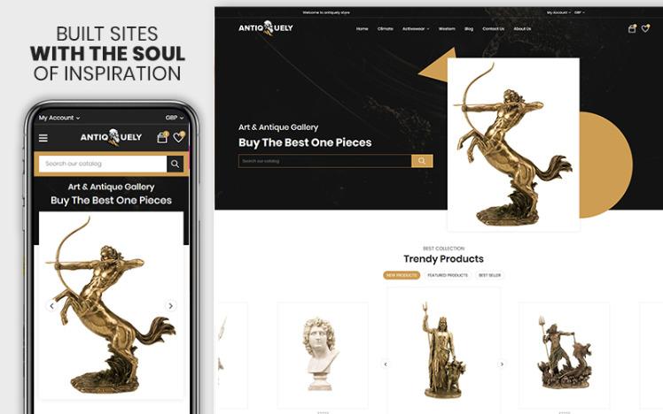 Antiquely The Art amp Gift Premium Shopify Theme