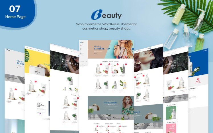 Beauty Beauty amp Cosmetics WooCommerce Theme