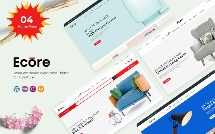 Ecore Furniture WooCommerce Theme