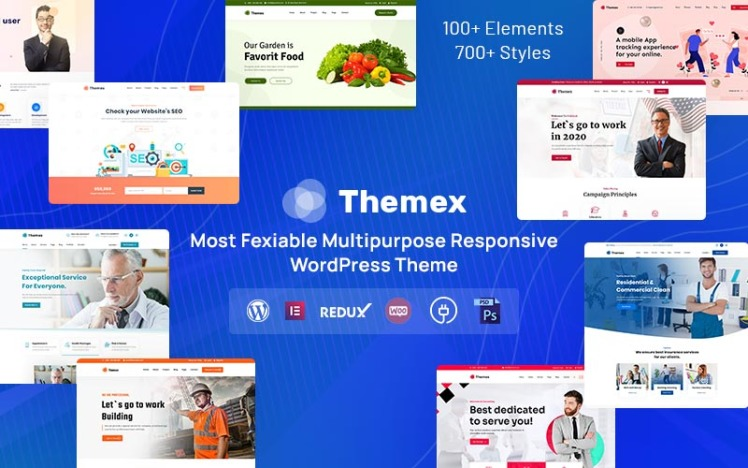 Themex Multipurpose Responsive WordPress Theme