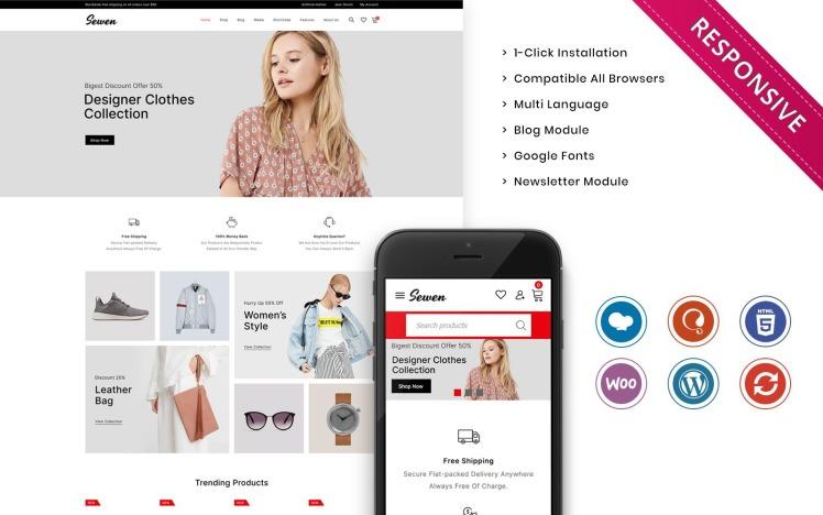 Sewen The Mega Fashion Store WooCommerce Theme