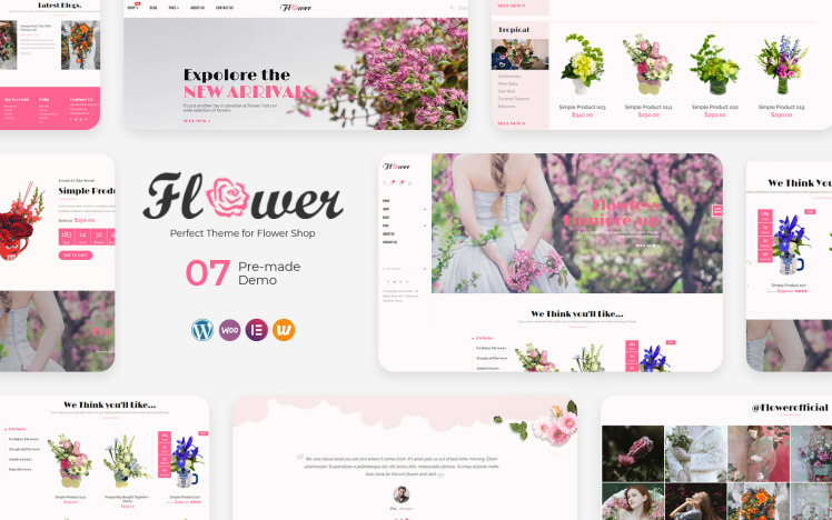 Flower Perfect for Flower Shop WooCommerce Theme