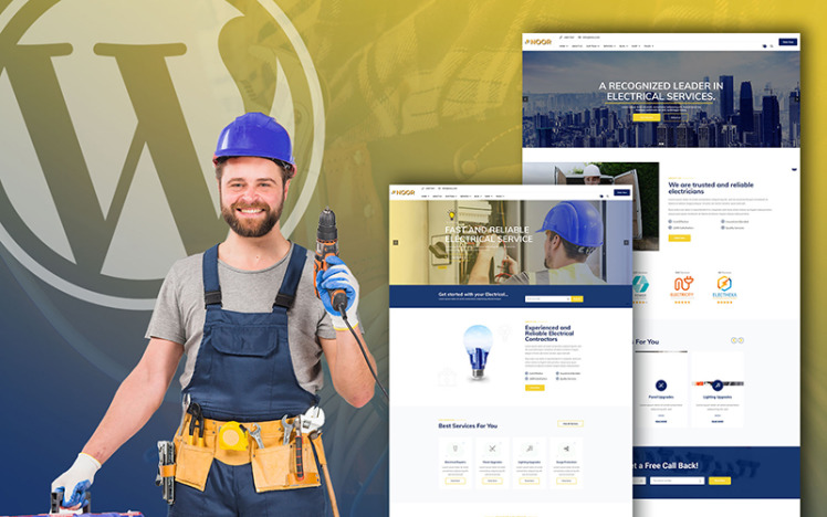 Noor Electrical Services WooCommerce Theme