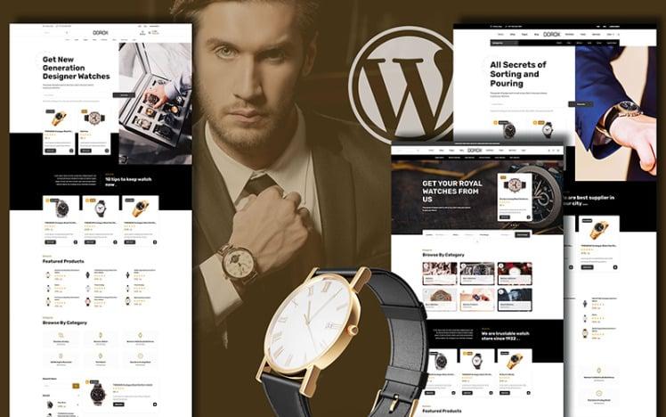 Dorox Luxurious Accessories WooCommerce Theme