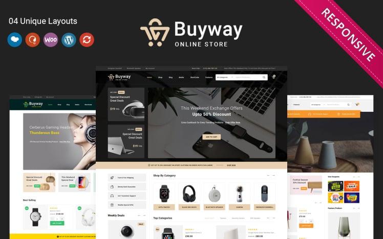 Buyway The Multipurpose Responsive WooCommerce Theme