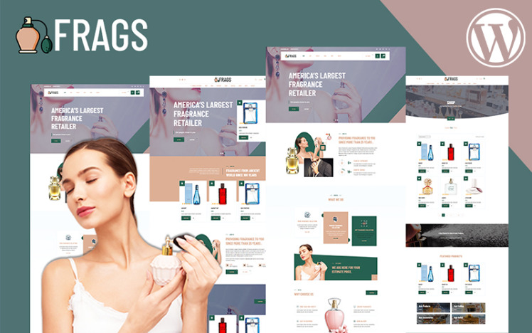 Fragz Perfume and Cosmetics Store WooCommerce Theme