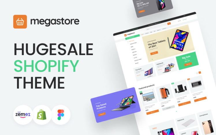 Megastore Responsive Hugesale Shopify theme