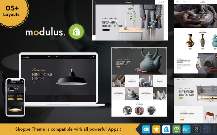 Modulus Multipurpose Shopify Responsive Theme