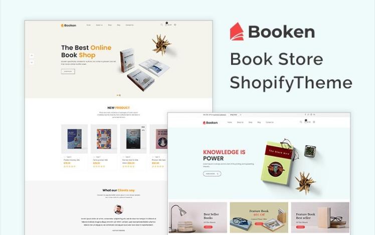 Booken Book Store Shopify Theme