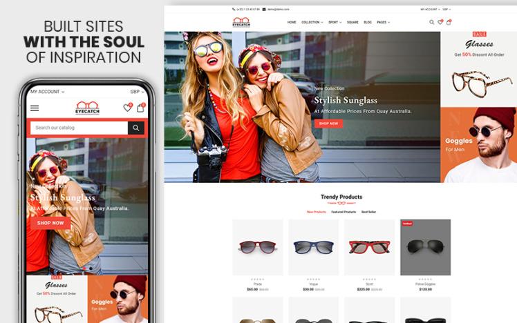 Eyecatch The Sunglass amp Fashion Premium Shopify Theme