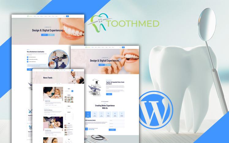 Toothmed Dentist Clinic WordPress Theme