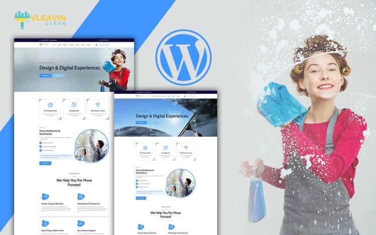 Vleavin Cleaning Service WordPress Theme