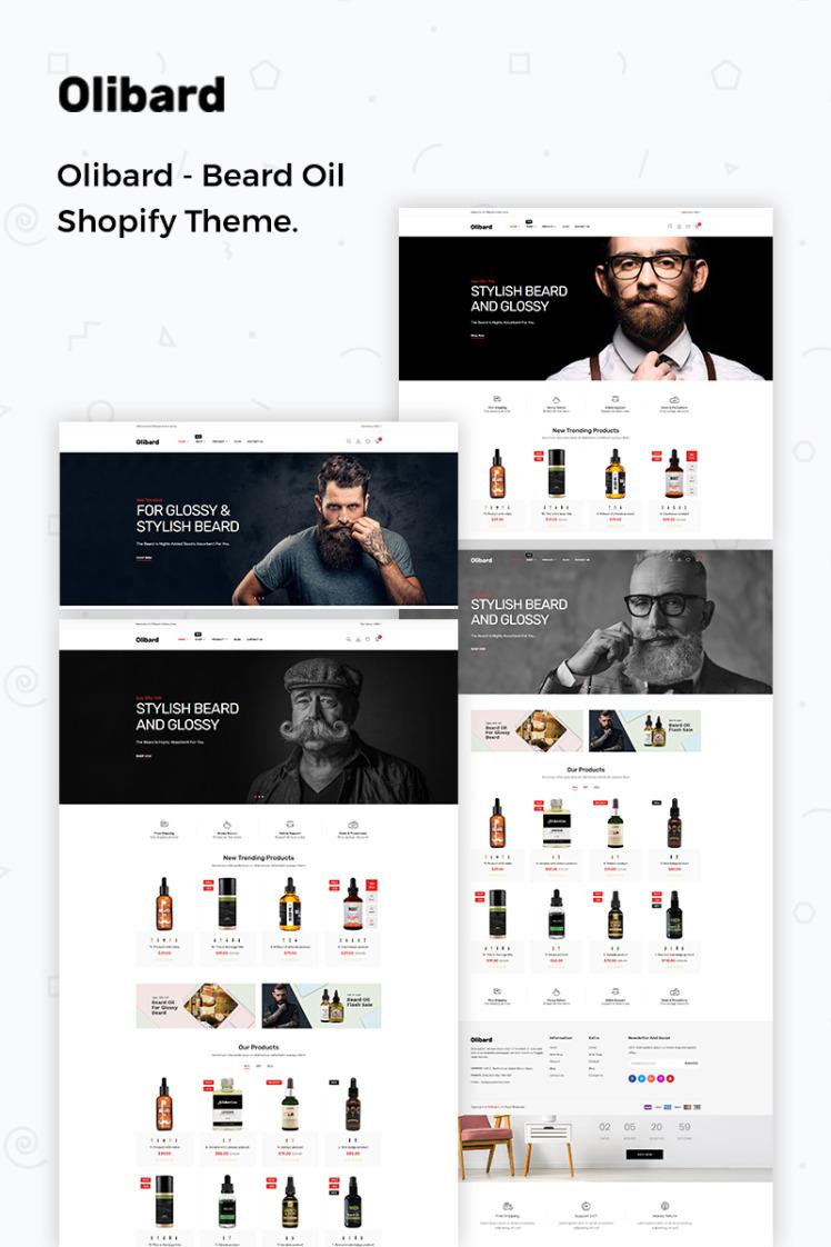 Olibard Beard Oil Shopify Theme