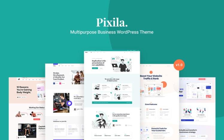 Pixila Multipurpose Business WordPress Theme