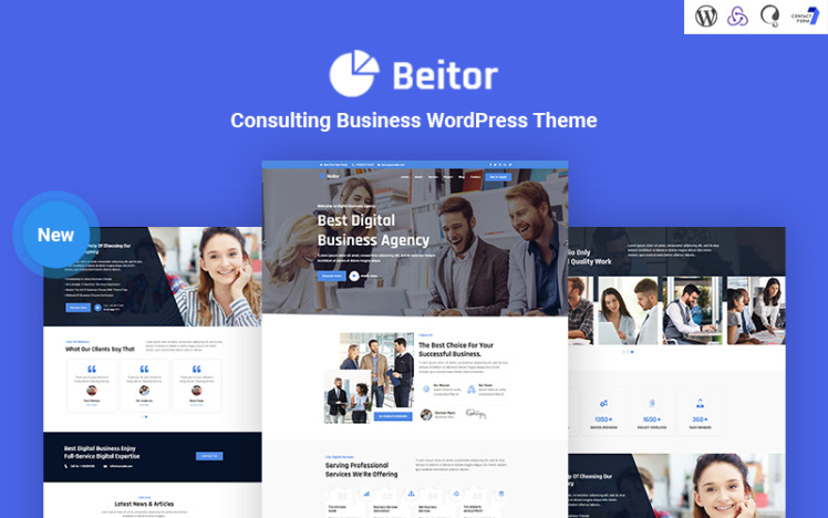 Beitor Consulting Business Responsive WordPress Theme