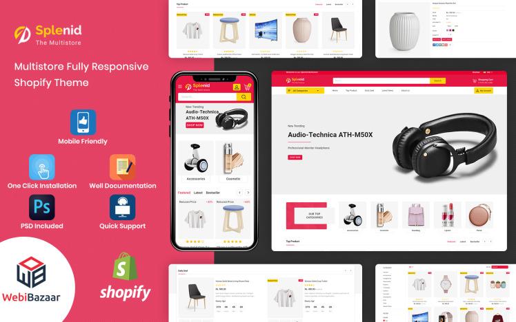 Splenid Multipurpose Responsive Shopify Template