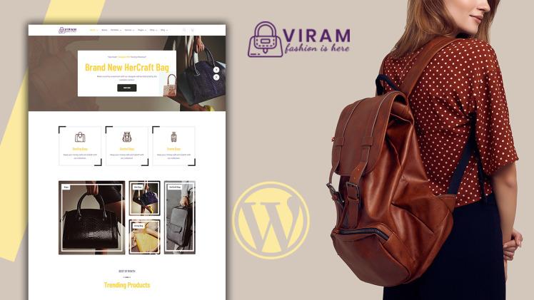 Viram Bag Shop Woocommerce Theme