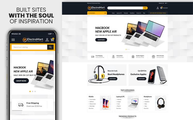 Electromart The Electronics amp Gadgets Premium Shopify Theme