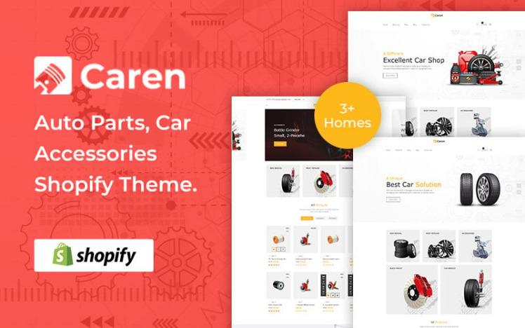 Caren Auto Parts Car Accessories Shopify Theme