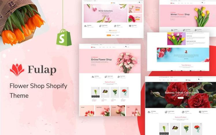 Fulap Flower Shop Shopify Theme