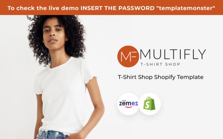 Multifly TShirt Store Printing Shopify Theme