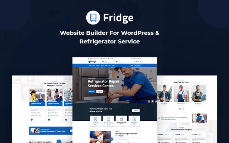 Fridge Website Builder For WordPress amp Refrigerator Service