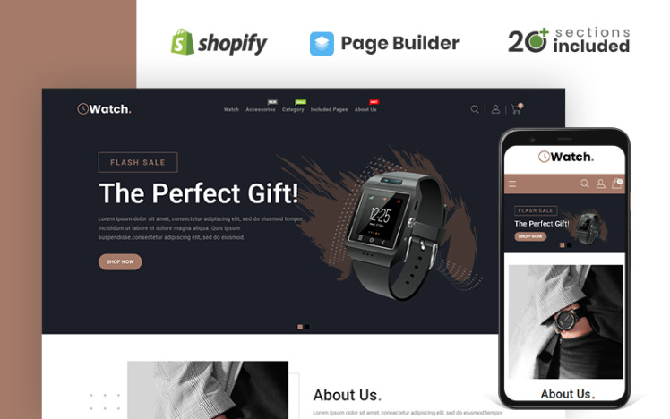 Watch amp Accessories Store Shopify Theme