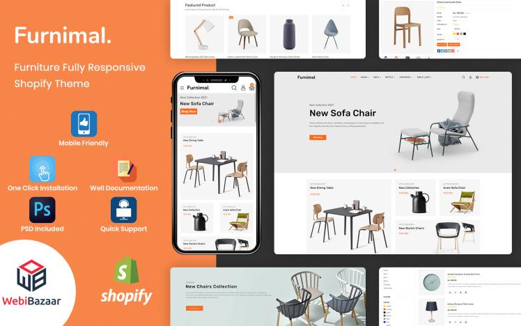 Furnimal Multipurpose Furniture amp Interior Shopify Template