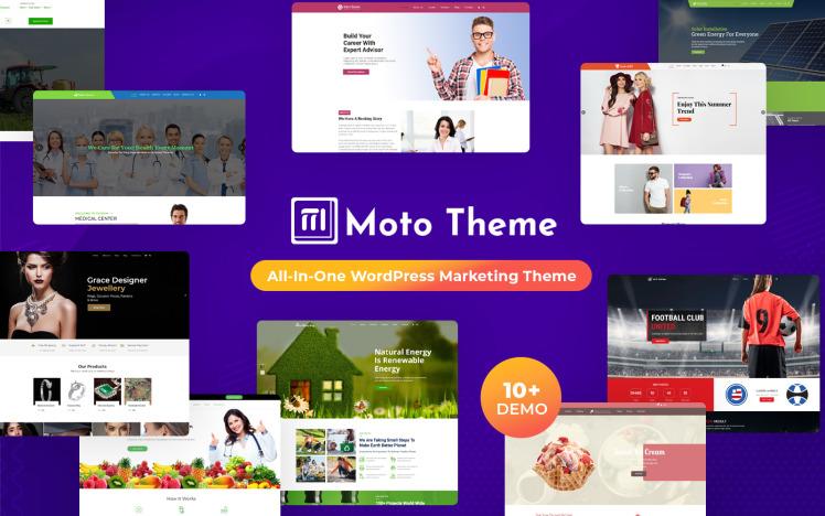 Moto Theme Multipurpose WordPress Theme