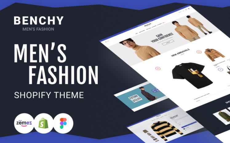 Benchy Mens Fashion Shopify Store theme