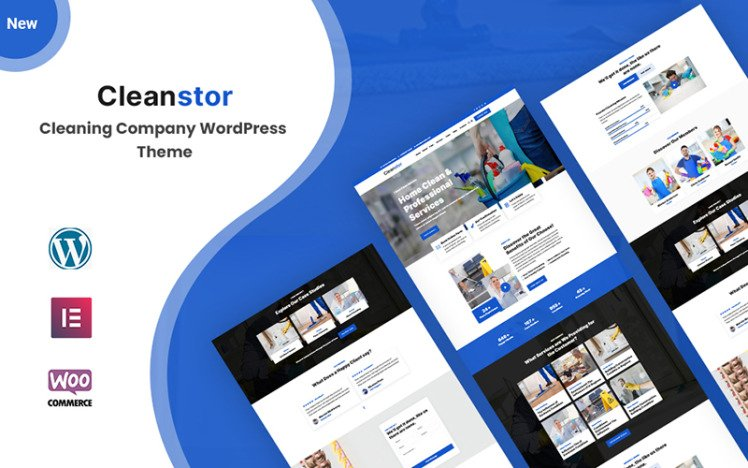 Cleanstor Cleaning Company Responsive WordPress Theme