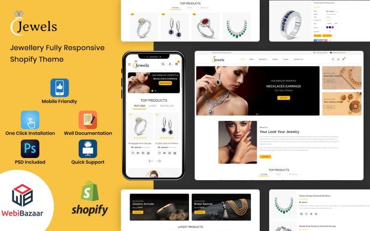 Jewels Jewelery Store Shopify Theme