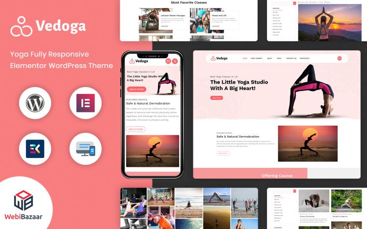 Yodoga Fitness and Gym WordPress Theme