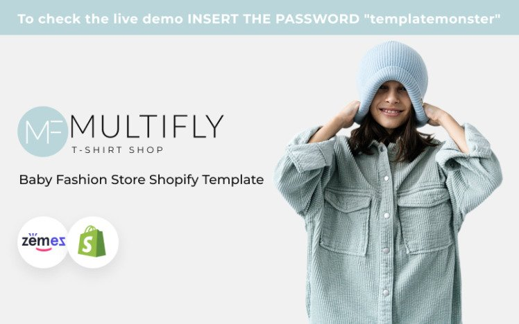 Multifly Baby Fashion Store Shopify Theme