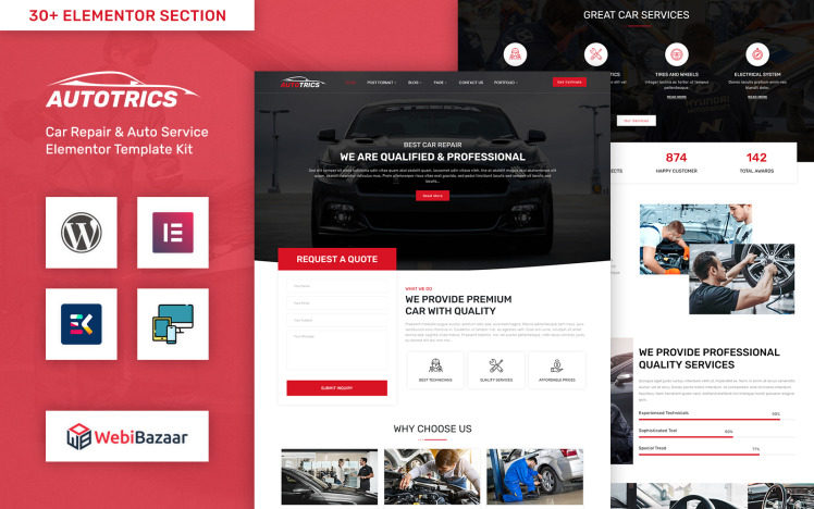 Autotrics Automobile amp Car Accessories Shop WordPress Theme