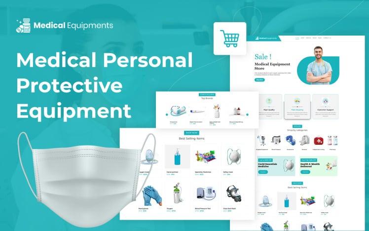 Medical Protective Equipment eCommerce WordPress Theme