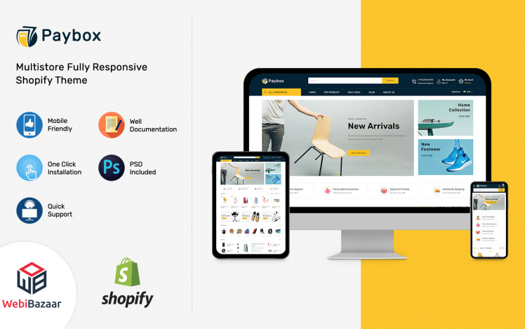 Paybox MultiPurpose Electronic Shopify Theme