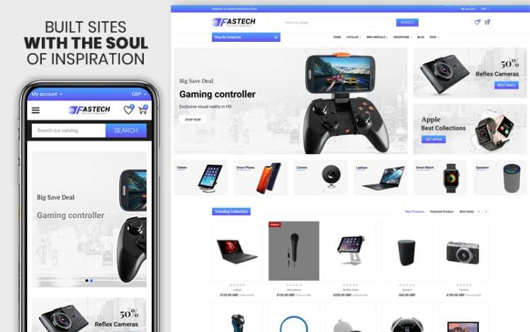 Fastech The Electronics Responsive Premium Shopify Theme