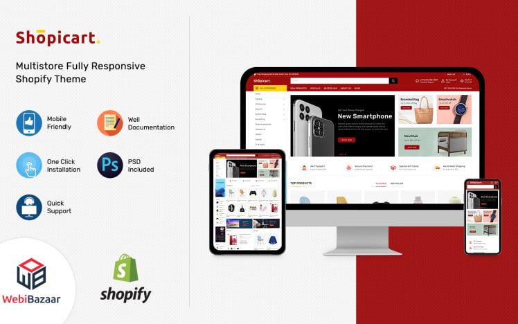 Shopicart Multipurpose Shopify Template
